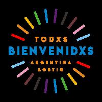 SELLO TODXS BIENVENIDXS - COLOR - Fondo transparente